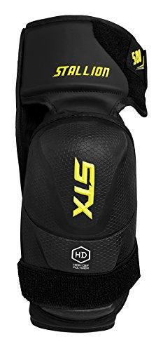 STX-Stallion-500-Junior-Ice-Hockey-Elbow-Pad-BlackYellow-Large