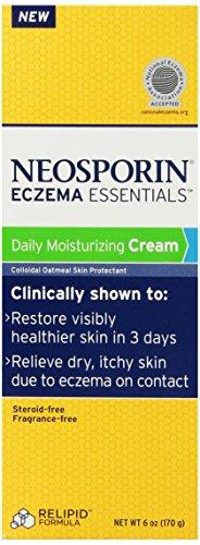 Neosporin Essentials Eczema Daily Moisturizing Cream, 6-Ounce