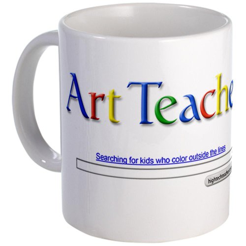 Cafepress Art Teacher Mug - Standard Multi-Color front-502034