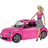 Mattel V1866 Barbie Volkswagen Beetle & Doll Set
