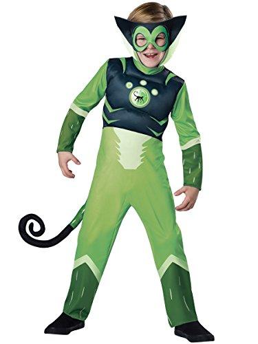 Wild Kratts Spider Monkey-Green Costume
