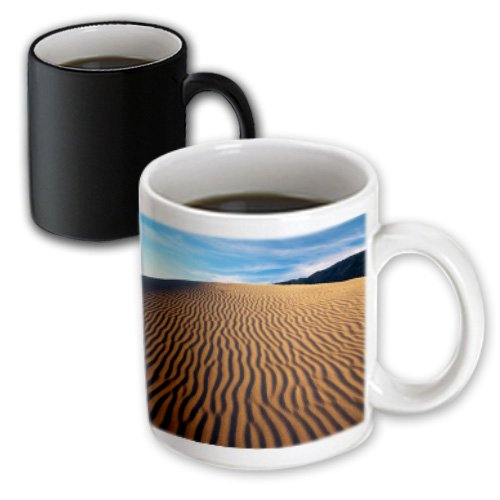 Danita Delimont - Deserts - Mojave Desert Dunes, Death Valley, California, Usa - Us05 Aje0071 - Adam Jones - 11Oz Magic Transforming Mug (Mug_142551_3)