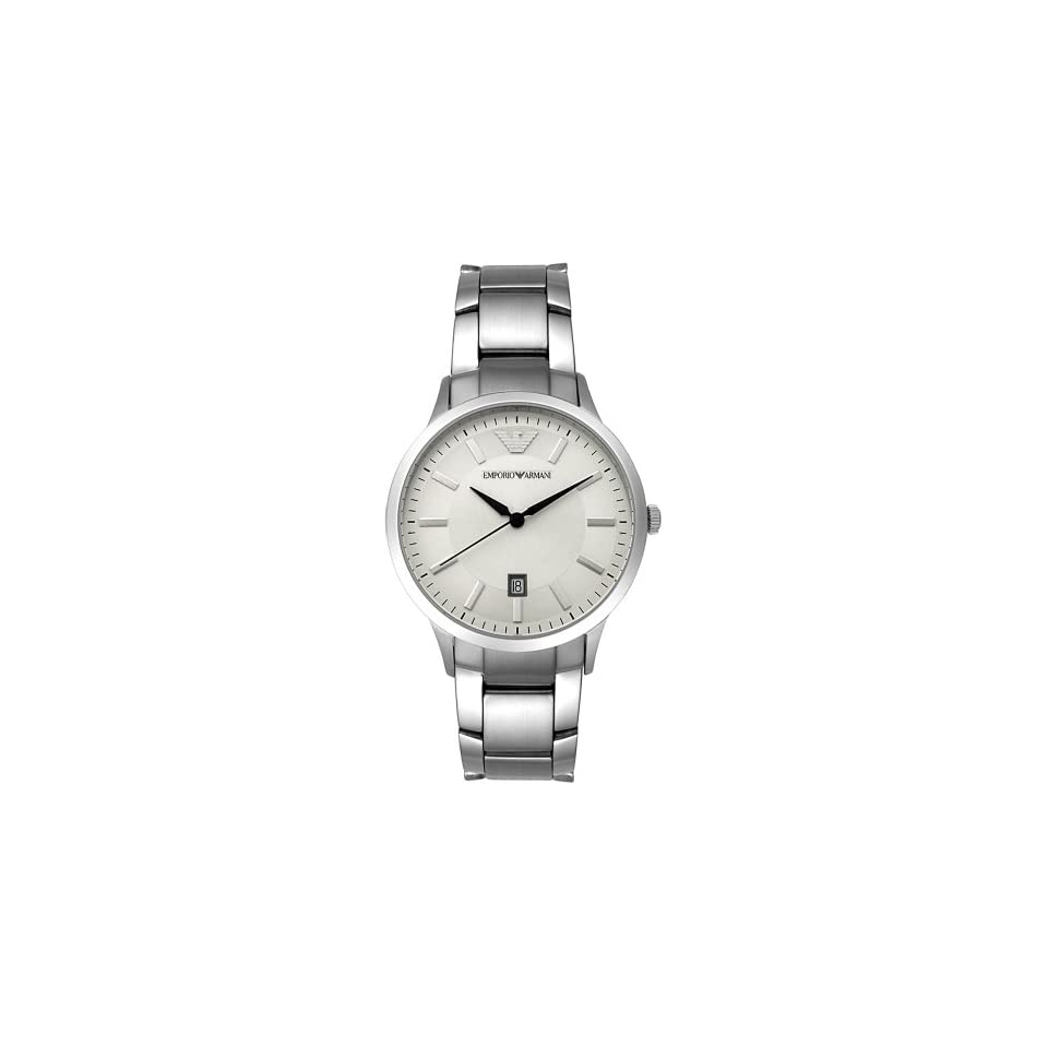 Emporio Armani Mens AR2431 Stainless Steel Watch