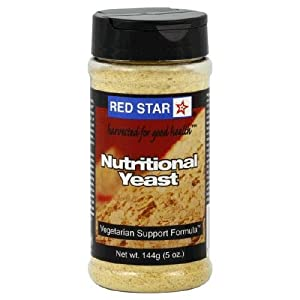 Red Star Nutitional Yeast Nutritional Yeast Veget Support Formula ( 6x5 OZ)