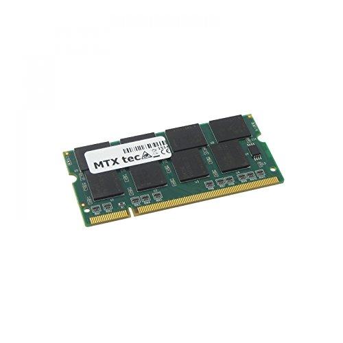Packard Bell EasyNote W3420, Arbeitsspeicher 512MB RAM