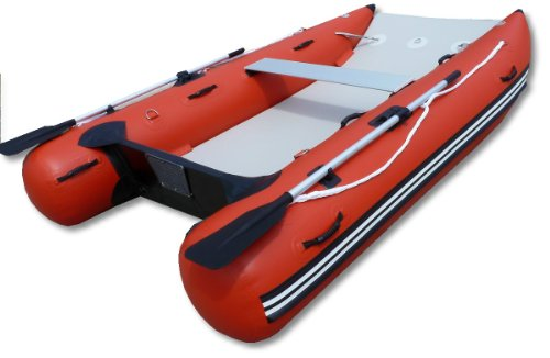Saturn 9 Ft 6 Inches Inflatable Boat Catamaran - Red