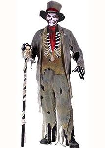 Adult Voodoo Zombie Halloween Costume