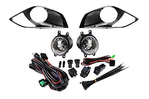 Driver side WITH install kit 6 inch T800-W900 -Black 2011 Kenworth CONV AEROCAB Side Roof mount spotlight 100W Halogen