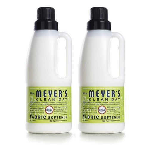 Mrs. Meyers Clean Day MRM-64589P2 Mrs. Meyers Clean Day Fabric Softener, Lemon Verbena, 32 oz, 2 pack