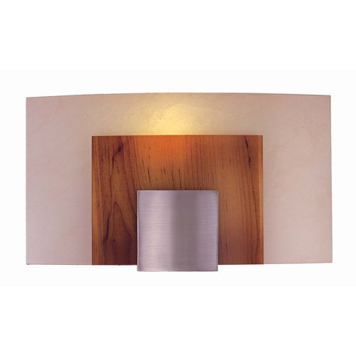Unique George Kovacs P Wall Sconce Brushed Nickel Art Glass ADA Sconces