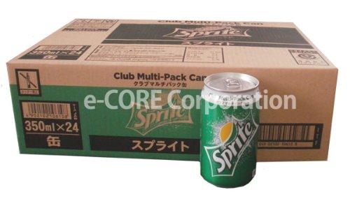 スプライト Sprite 350ml x 24缶入 クラブマルチパック缶