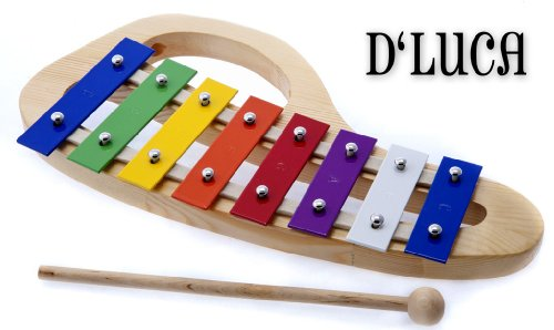 D'Luca TH8C 8 Notes Rainbow Xylophone Glockenspiels