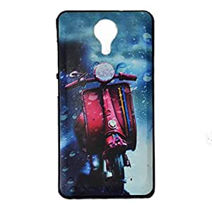 VAV New Printed Protective Phone Soft Back Case Cover For Micromax Canvas Nitro 4G E455