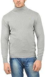UV&W Men's Cotton Sweater (WSSF45 GREY HTR, XL)