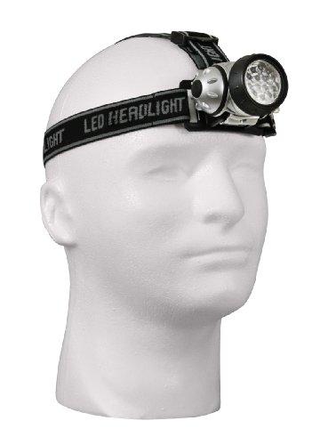 Black 14 Bulb Led Multi-Function Color Lens Headlamp