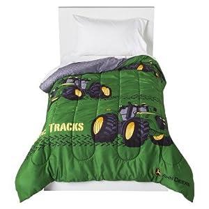 John Deere Twin Comforter and Twin Sheet Set