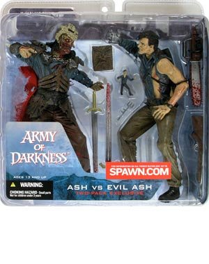 Picture of Toy Rocket Movie Maniacs Series 4 Ash vs. Evil Ash Action Figure 2-Pack (B000WERJE4) (Toy Rocket Action Figures)