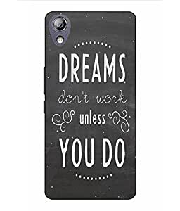 Snazzy Slogan Printed Grey Hard Back Cover For Lenovo P70