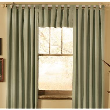 Room Decor Insulating Curtains Tab Top Pair