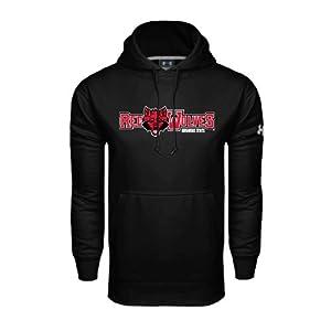 Arkansas State Under Armour Black Performance Sweats Team Hood