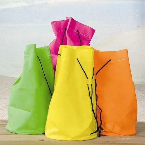 Neon Drawstring Bags - 12 per unit