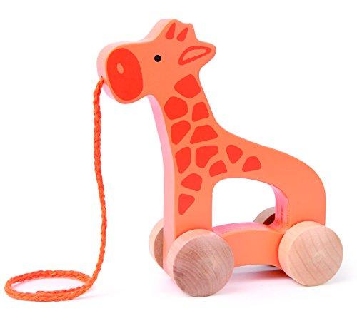 Hape E0906 Push & Pull - Giraffe Toy