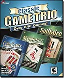 Masque Classic Game Trio With 640 Games: Mahjong, Solitaire & Card