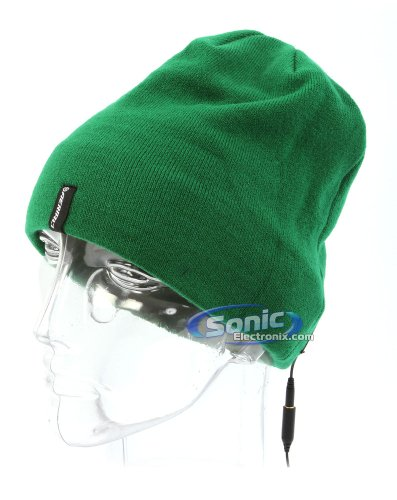 Aerial7 Perisher Sound Disk Sports Headband Headset With Built-In Headphones And In-Line Microphone (Green)