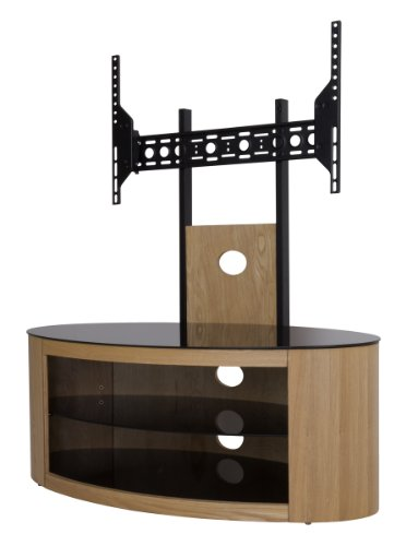 Buckingham Oak TV Stand for up to 55 inch Black Friday & Cyber Monday 2014