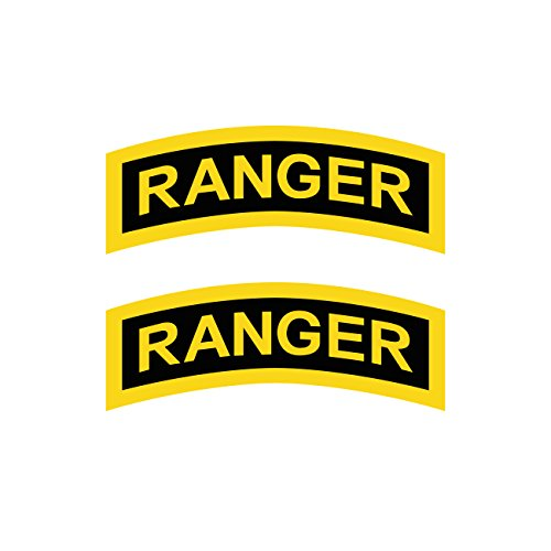 Two Pack United States Army Rangers Sticker FA Graphix Decal Self Adhesive Vinyl elite infantry unit (Ranger Decal compare prices)
