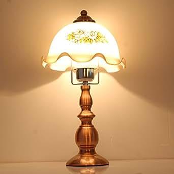 European Style Retro Lamp Bedroom Bedside Lamp Creative Living Room Den D
