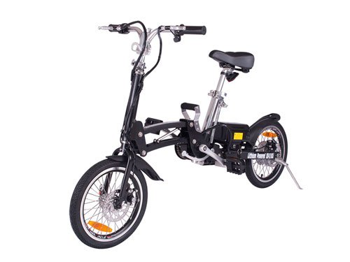 X-Treme Electric Xb-210Li Lithium Battery Powered Folding Bicycle (Black)