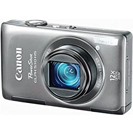 Canon PowerShot ELPH 510 HS Digital Camera (Silver)