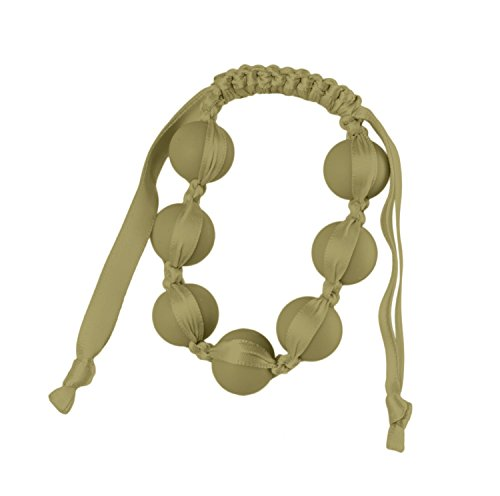 Chewbeads Cornelia Bangle Bracelet - Teething Jewelry - Military Olive