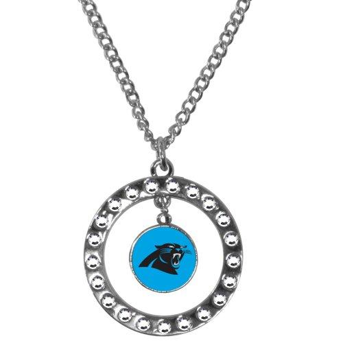 panthers necklaces carolina panthers necklace panthers. Black Bedroom Furniture Sets. Home Design Ideas