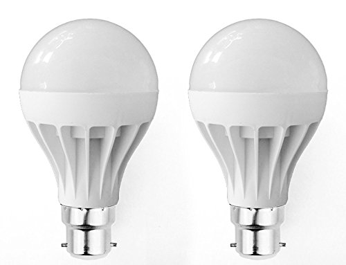 Super Eco 12W LED Bulb (Cool White, Pack of 2))