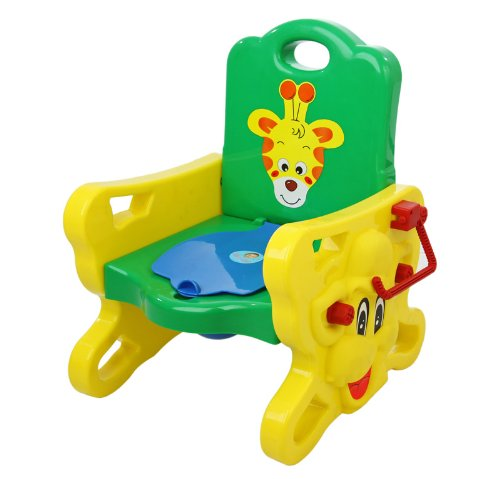 Dream On Me Musical Giraffe Potty Trainer, Yell/Green