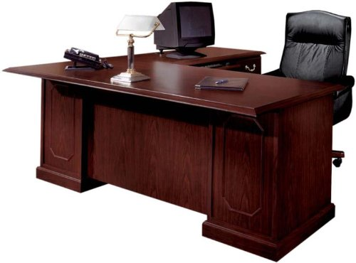 72 x 84 executive l shaped desk by dmi office furniture cheap anh040520145. Black Bedroom Furniture Sets. Home Design Ideas