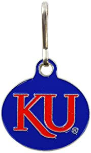 NCAA Kansas Jayhawks Zip-It Zip Puller Charm by The Alumni Association