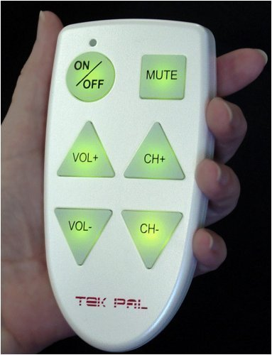 Tek Pal Simple Remote Control [Health and Beauty]