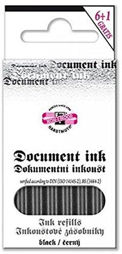 Koh-I-Noor Document Cartouche pour Stylo à plume - Noir