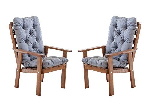 Ambientehome-90387-Gartensessel-Gartenstuhl-Loungesessel-2-er-Set-Massivholz-Hanko-Maxi-mit-Kissen-braun-grau
