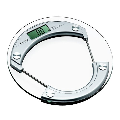 41tJ c9XZNL Electronic Digital Glass Bathroom / Private Scale Round Design With four Sensors And Car On Technologies: Tells Weight in lb, kg or st Critiques