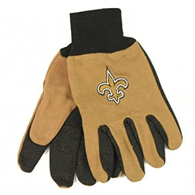 New Orleans Saints 2-TONE Sport / Grip Utility Gloves