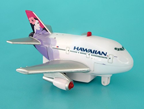 Daron Hawaiian Pullback Toy with Light and Sound