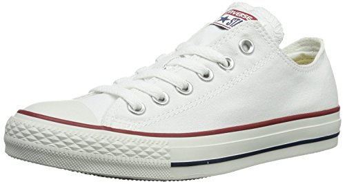 Converse Chuck Taylor All Star Low Top (7.5 Men 9.5 Women, Optical White)