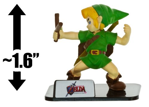 The Legend of Zelda - 3 Game Figure Collection - LINK (Ocarina of Time) - 1