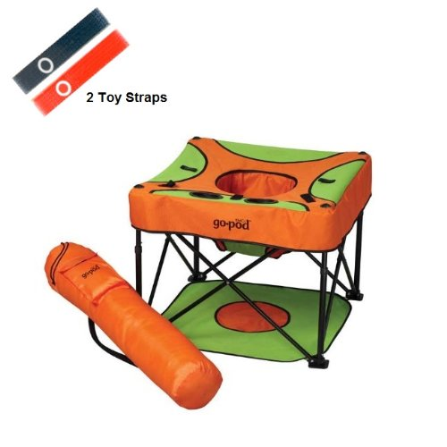 Kidco Go Pod With Toy Straps, Sorbet front-198394
