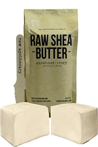 Raw Apothecary Unrefined Raw Shea Butter (Ivory)