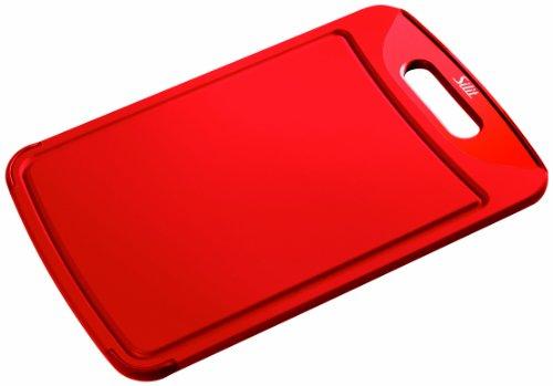 Silit 0020.7681.01 Schneidebrett 38 x 25 cm antibakteriell, rot